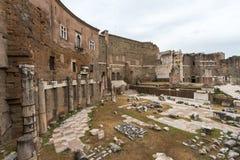 Mercati Traianei, Foro di Traiano, Roma Италия Стоковое Фото