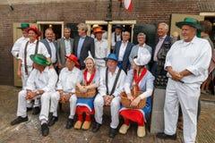 Mercato Alkmaar del formaggio Fotografia Stock