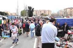 Mercato all'aperto, Fuengirola, Spagna immagine stock