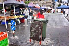Mercato Auckland degli agricoltori della città Fotografia Stock Libera da Diritti