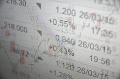 Mercato in aumento Fotografia Stock Libera da Diritti