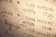 Mercato in aumento Immagini Stock Libere da Diritti