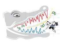 Mercato azionario Immagini Stock