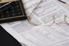 Mercato azionario I Immagini Stock Libere da Diritti