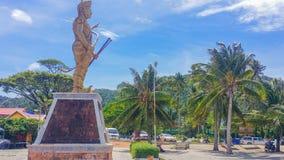 Mercato centrale Cambogia della città di Keb fotografie stock libere da diritti