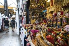 Mercato centrale coperto di Budapest Fotografia Stock