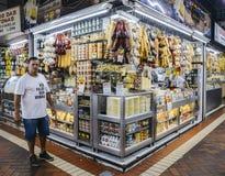 Mercato centrale di Belo Horizonte Immagini Stock Libere da Diritti