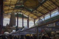 Mercato Centrale a Firenze, vista arhitectural Fotografia Stock Libera da Diritti