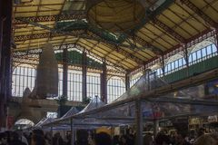 Mercato Centrale in Florence, arhitectural mening Royalty-vrije Stock Foto
