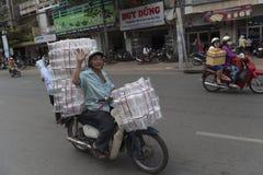 Mercato cinese in Ho Chi Minh Fotografie Stock