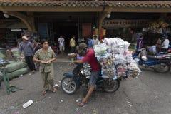 Mercato cinese in Ho Chi Minh Fotografia Stock Libera da Diritti