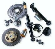 Mercato degli accessori dell'auto del negozio dell'automobile dei pezzi di ricambio Fotografie Stock Libere da Diritti