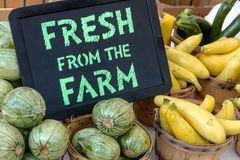 Mercato degli agricoltori Fotografie Stock Libere da Diritti
