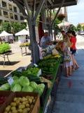 Mercato degli agricoltori della città di Roanoke Fotografia Stock Libera da Diritti