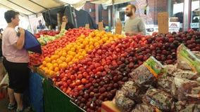 Mercato degli agricoltori di Boston Immagine Stock Libera da Diritti