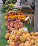 Mercato degli agricoltori di Roanoke Immagini Stock Libere da Diritti
