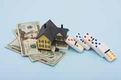 Mercato degli alloggi Immagine Stock