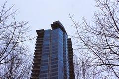 Mercato degli alloggi di Vancouver Immagine Stock