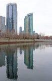 Mercato degli alloggi di Vancouver Fotografia Stock