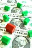 Mercato degli alloggi luminoso Immagini Stock Libere da Diritti