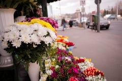 Mercato dei fiori Fotografia Stock