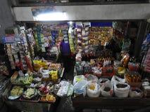 Mercato dei prodotti di base in Bali Indonesia Fotografie Stock