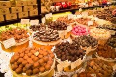 Mercato del cioccolato Fotografia Stock Libera da Diritti