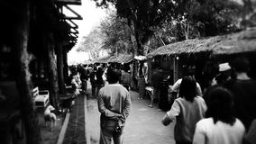 mercato del confine fotografie stock libere da diritti