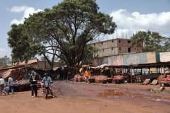 Mercato del fango - Kenya immagine stock libera da diritti