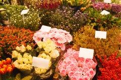 Mercato del fiore Fotografia Stock