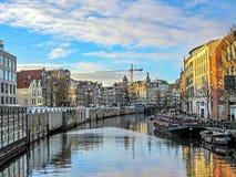 Mercato del fiore a Amsterdam, Olanda, Paesi Bassi immagine stock libera da diritti