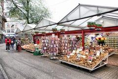 Mercato del fiore di Amsterdam Immagine Stock Libera da Diritti