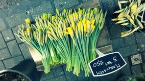 Mercato del fiore di Bloemenmarkt Immagini Stock