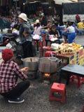 Mercato del Lat del Da, Vietnam Fotografie Stock Libere da Diritti