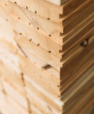 Mercato del legname Fotografia Stock