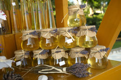 Mercato del miele Immagine Stock Libera da Diritti