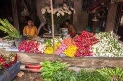 Mercato del Myanmar Immagini Stock Libere da Diritti