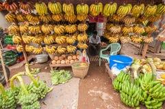 Mercato del Myanmar Immagine Stock Libera da Diritti