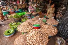 Mercato del Myanmar Fotografie Stock