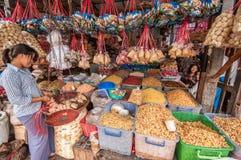 Mercato del Myanmar Immagine Stock