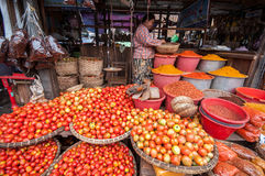 Mercato del Myanmar Fotografia Stock