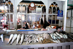 Mercato del Pesce Di Bolhao, Πόρτο Στοκ εικόνα με δικαίωμα ελεύθερης χρήσης