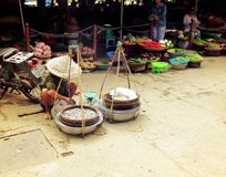 Mercato del Vietnam Fotografia Stock