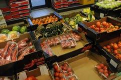Mercato dell'alimento della catena del tedesco di Lidl Fotografie Stock Libere da Diritti