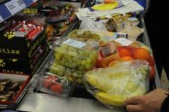 Mercato dell'alimento della catena del tedesco di Lidl Fotografia Stock Libera da Diritti