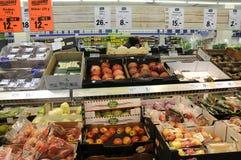 Mercato dell'alimento della catena del tedesco di Lidl Immagine Stock