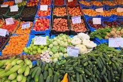 Mercato dell'alimento di Budapest Immagine Stock Libera da Diritti