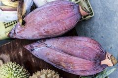 Mercato dell'alimento su Koh Phangan, Tailandia Fotografia Stock Libera da Diritti