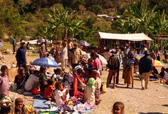 MERCATO DELL'ASIA TIMOR ORIENTALE TIMOR EST AITUTO Fotografie Stock Libere da Diritti
