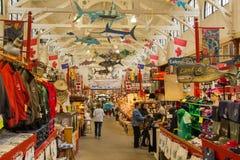 Mercato della città di St John N.B.: Fotografie Stock Libere da Diritti